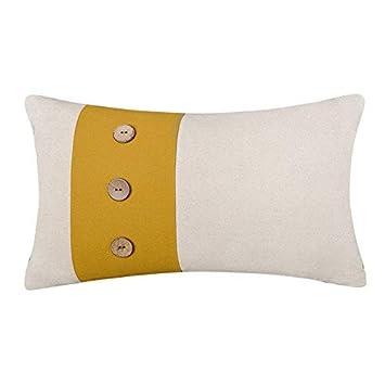 Amazon.com: JW lino fundas de almohada de acento decorativo ...