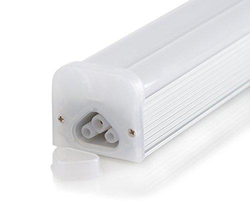 SleekLighting T5 LED Double Bar Tube Lighting 2-ft Frosted