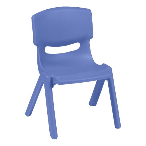 (Sprogs Colorful Plastic Preschool Stack Chair, 9 1/2