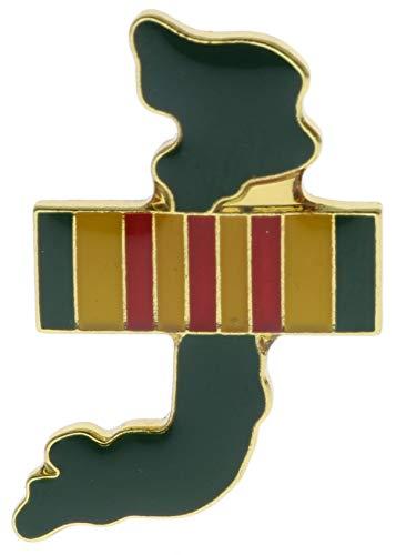 Vietnam Shape War Service Ribbon Hat or Lapel Pin AK742