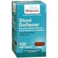 (Walgreens Stool Softener Softgels, 100)