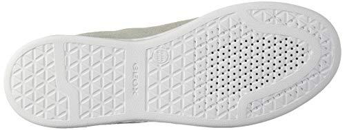 Jaysen Beige lt Femme Sneakers C1303 A Grey white Basses D Geox FwUR55