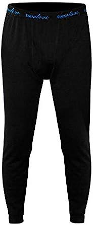 Woolove Men's 100% Merino Wool Long Underwear Baselayer Legg