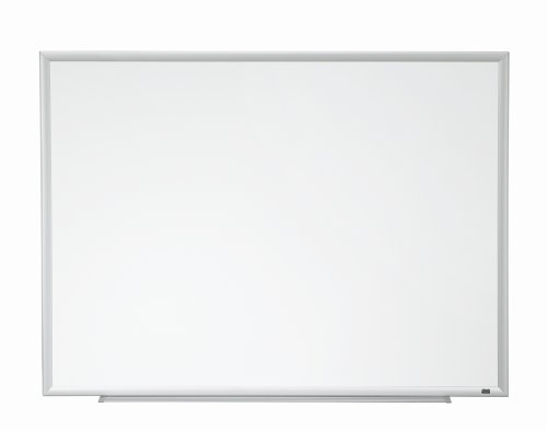 3M Porcelain Dry Erase Board, 60 x 36-Inches, Aluminum Frame by Unknown