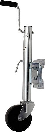 Big Roc TJW Trailer Jack (1000 lbs Swiveling with Wheel)
