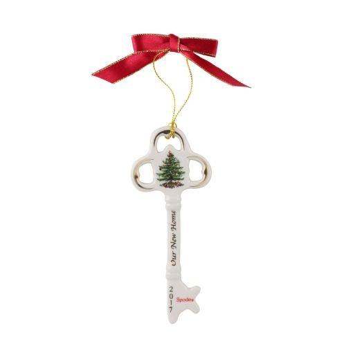 Spode Christmas Tree Annual Edition Ornament, Key