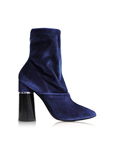 Femme Velours Bottines Bleu 3 Phillip SHP7T290SVLRO431 Lim 1 6PqZ8Wg