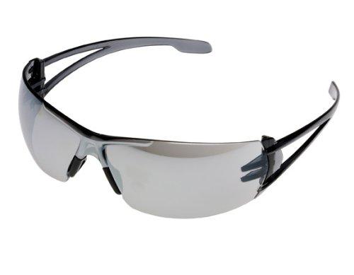 Gateway Safety 278M Varsity Wraparound Eye Safety Glasses, Silver Mirror Lens, Gray Temple (Glasses 278)