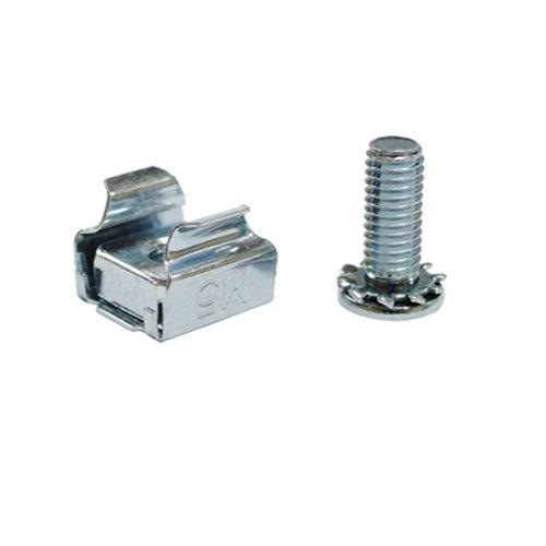 Akust Tuercas enjauladas M5, tornillos para armarios y racks de servidores - Paquete 15 SK00-0048-AKS