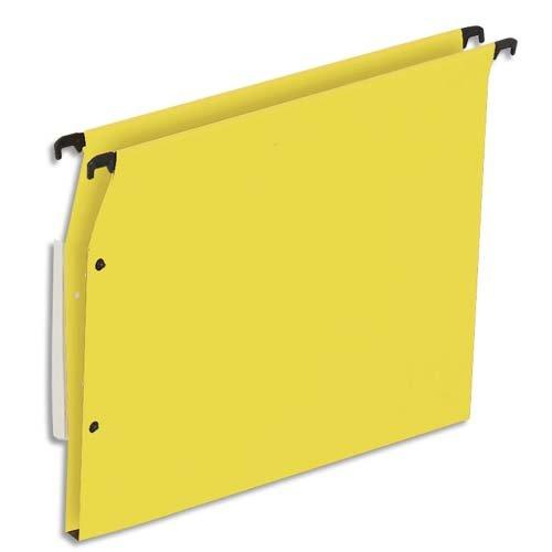 - ETL-915110 Suspension Files Set of 25 for 5 Etoiles Filing Cabinet 15 mm Base Kraft Paper Yellow