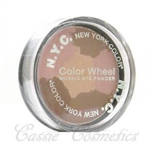 NEW !! NYC Color Wheel Mosaic Eye Powder - Pink Cadillac