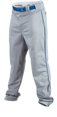 Rawlings Men's Baseball Pant (Blue Grey/Royal, X-Large)