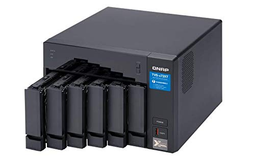 QNAP TVS-672XT 6 Bay Thunderbolt 3 NAS with 8GB RAM, 10GbE, M.2 PCIe Nvme SSD Slots by QNAP (Image #3)