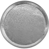 Handi-Foil 16'' Round Flat Disposable Aluminum Catering Serving Tray Platter 25PK (pack of 25)