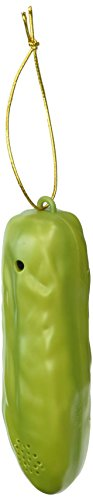 Lucky Yodelling Christmas Pickle Ornament -