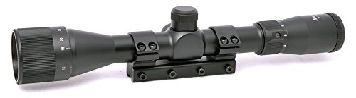 Hammers 3-9x32AO Air Rifle Scope with One-Piece Mount,Black