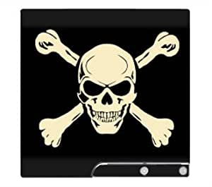 Jolly Roger Crossbone Skin for Sony Playstation 3 Slim Console by lolosakes