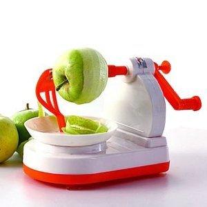 りんごの皮むき器 アップルピーラー カットフルーツ 回転式