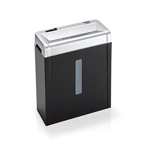 Dahle Papersafe 22017 Aktenvernichter (Start-Stopp-Automatik, 5 Blatt, P-4, Partikelschnitt) schwarz DAH22017-11101