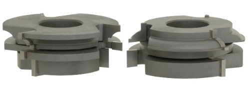 1-1//4-Inch Bore Roman Carbide DC2180 Stile and Rail Cabinet Set Quarter Bead