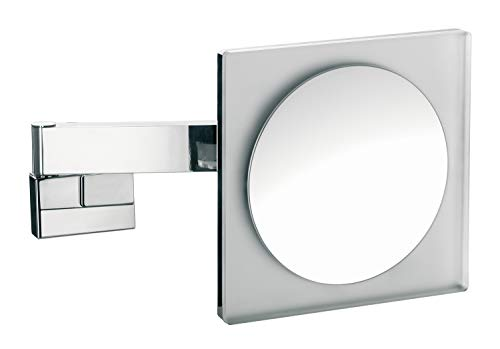 Emco 109606004 Vanity Mirror with Light Dimmable Bathroom Mirror with Articulated Arm -