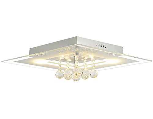 Plafoniera Cristallo Led : Rombo watt lm led cristallo plafoniera vetro lampada
