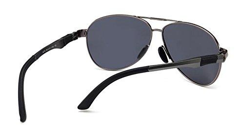 de en retro Un soleil vintage polarisées style inspirées lunettes rond du Lennon cercle métallique BqCdqF
