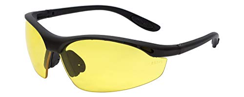 Calabria 91348 Bi-Focal Safety Glasses UV Protection in Yellow +1.50