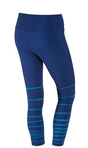 Royal Nike Legend (NIKE Women's Legend Tight Burnout Capris Deep Royal Blue/Light Photo Blue/Light Photo Blue XS X 21)