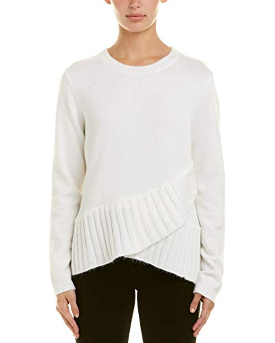 Central Park West Womens Bourbon Street Sweater, S, White