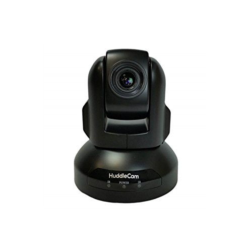 HuddleCamHD 2.1MP 720p Indoor USB 2.0 PTZ Conferencing Camera, 10x Optical Zoom, 30fps, 57deg. FOV, Black by HuddleCamHD