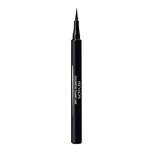 Revlon ColorStay Liquid Eye Pen, Classic, Blackest Black - Packaging May Vary