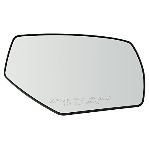 - Mirror Glass with Backing Plate Heated Convex RH Right Passenger for GM Truck