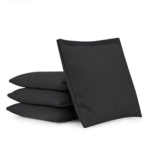 Cornhole Bags (Set of 4):: Choose Your Colors (Black)
