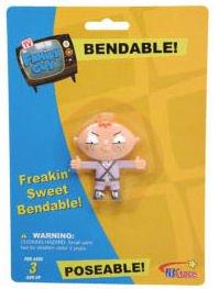 (Family Guy Bertram (stewie's Brother) Bendable Figure )