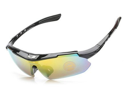 Carsend Polarized Sports Sunglasses with 3 Interchangeable Lenses for Men Women Cycling Driving Climbing Outdoor - Sunglasses Wayfarer Colourful