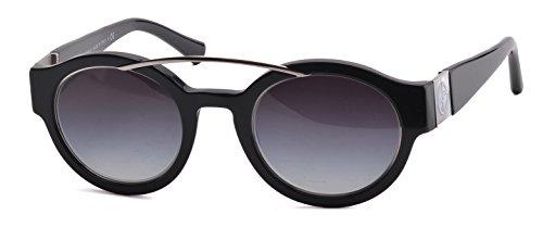Giorgio Armani 8036H 50178G Black 8036H Round Sunglasses Lens Category 3