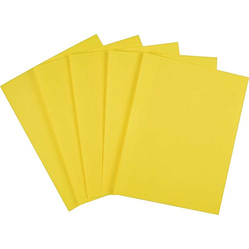 (Staples 733077 Brights 24 Lb. Colored Paper Yellow 500/Ream (20102))