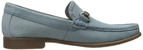 Stacy Adams Men's Kelby-Moc Toe Bit Slip-On Oxford Stone Blue browse sale online sale enjoy release dates for sale low price for sale vnSohr