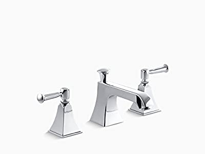 KOHLER Memoirs Widespread Lavatory Faucet with Stately Design