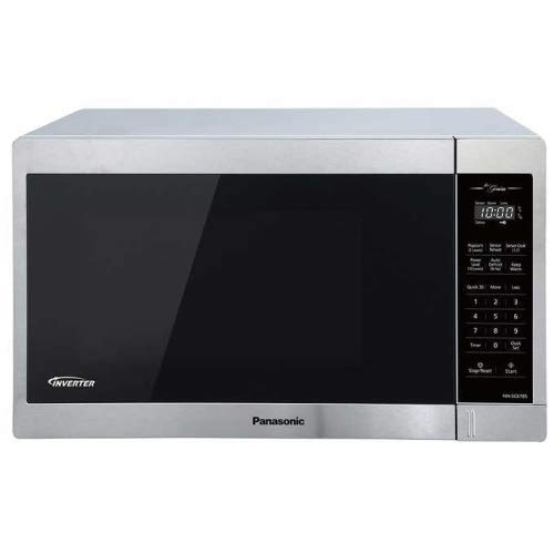 Panasonic NN-SC678S Genius 1.3 cu. ft. 1200 W Stainless-steel Inverter Microwave (Renewed)