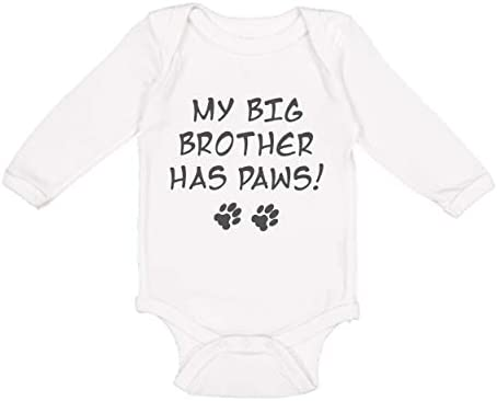 baby girl baby boy My Big Brother  Sister Lhasa Aspo Cute Baby Short  Long Sleeve pet dog lover gift baby shower gift baby clothes