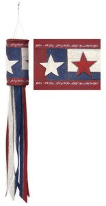 Evergreen Land of Liberty Windsock Wind -