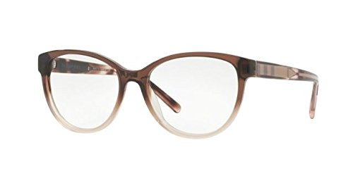 Burberry Women's BE2229 Eyeglasses Brown Gradient Pink - Glasses Women Burberry