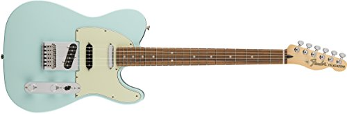 Nashville Style Guitar - Fender Deluxe Nashville Telecaster Electric Guitar - Pau Ferro Fingerboard - Daphne Blue