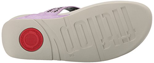 Plumthistle Femme FitFlop Post Sandales Carmel Toe Xqvx0xw74