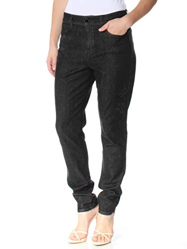 (Ralph Lauren Women's Premier Skinny Crop Jeans (8, Black) )