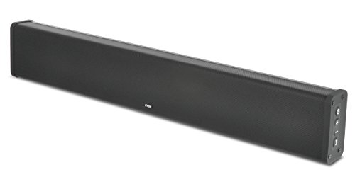 ZVOX SB380 Aluminum Sound Bar TV Speaker With AccuVoice Dialogue Boost, Built-In Subwoofer - 30-Day Home Trial