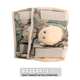 Night Crawler Tactical Elbow Pads (Eight Color Desert Camo) - paintball elbow pads by RAP4