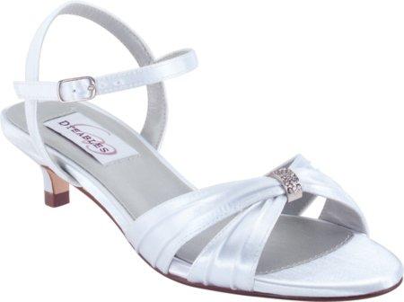 Dyeables Women's Fiesta Sandal,White,9.5 M